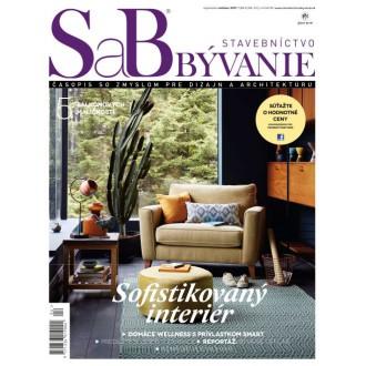 SaB/Stavebníctvo a bývanie september / október 2017 - predplatné