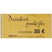 Darčeková poukážka 35 Eur