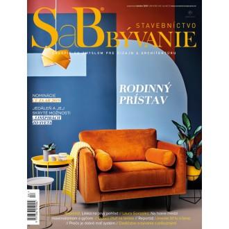 SaB/Stavebníctvo a bývanie september / október 2019 - predplatné