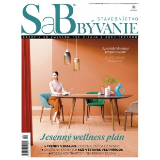 SaB/Stavebníctvo a bývanie september / október 2018 - predplatné